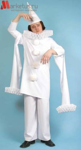Пьеро костюм своими руками